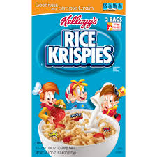 Exp 04/25/2018 Any Kelloggs Rice Krispies or Cocoa Krispies $1 on 2