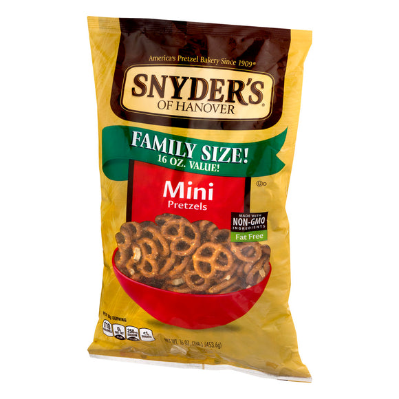 Exp 03/31/2018 Any Snyder's Of Hanover Products (5 oz or Larger)$1 on 2