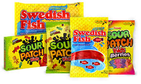 Exp 05/05/2018 Any Swedish Fish or /Sour Patch Kids Soft & Chewy Candy Bags $1 on 2