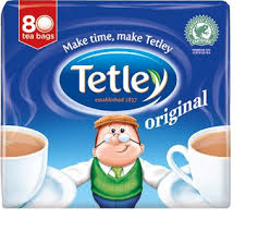 Exp 08/28/2018 Any  Tetley Tea Box $1 on 1