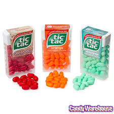 Exp 07/08/2018 Any Single Tic Tac Mints or Tic Tac Mixers $.50 on 1