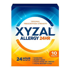Exp 03/24/2018 Any Xyzal Allergy 24hr (35 ct or Larger) $4 on 1
