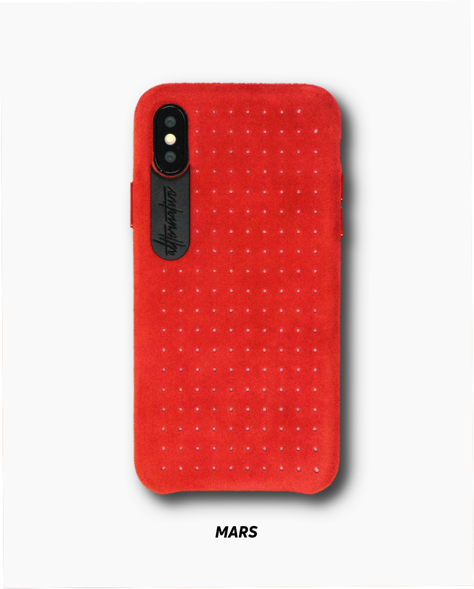 Altternative Iphone XS leather Case Mars