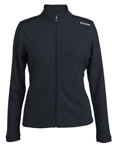 Pebble Beach Ladies' Full-Zip Heathered Jacket
