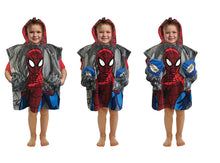 POCKET FRENZ® AMAZING SPIDER MAN WEB-SLINGING BEACH/BATH TOWEL