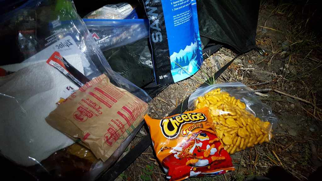 Backcountry food