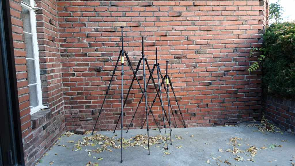 UltraLight Tripods Extended