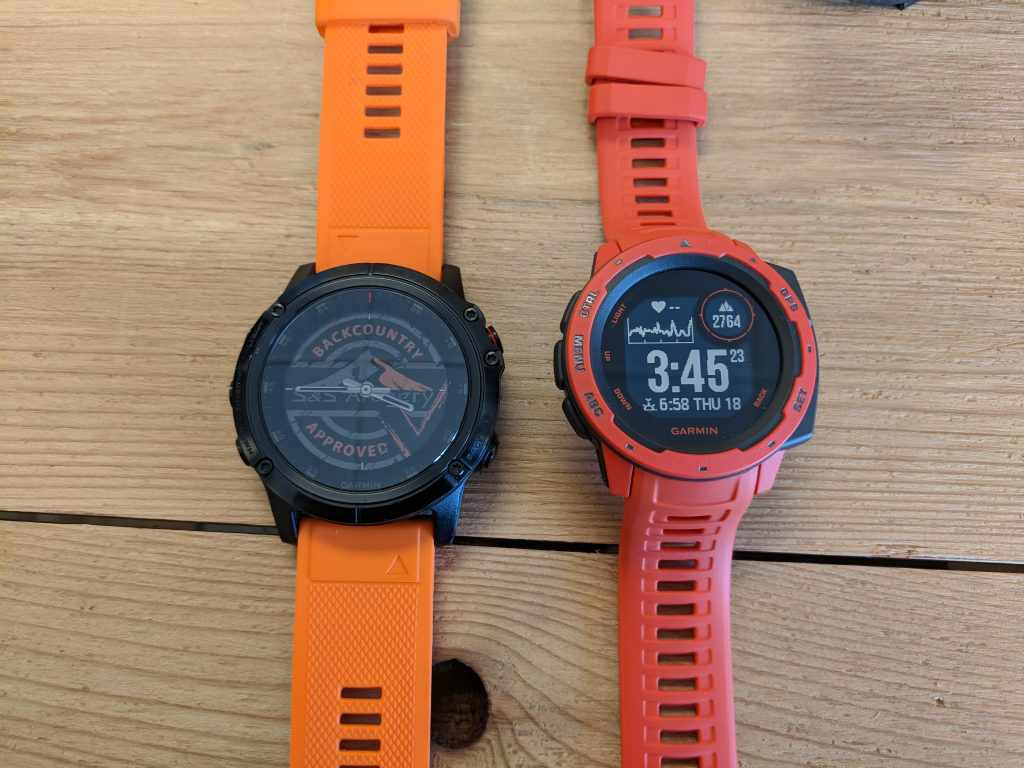 Fenix 5x Plus vs Garmin Instinct
