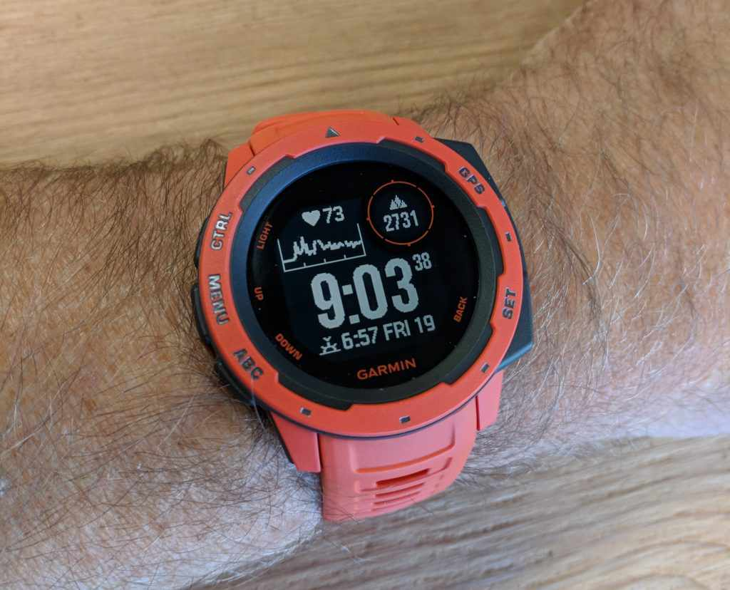 Garmin Instinct Rugged GPS Smartwatch