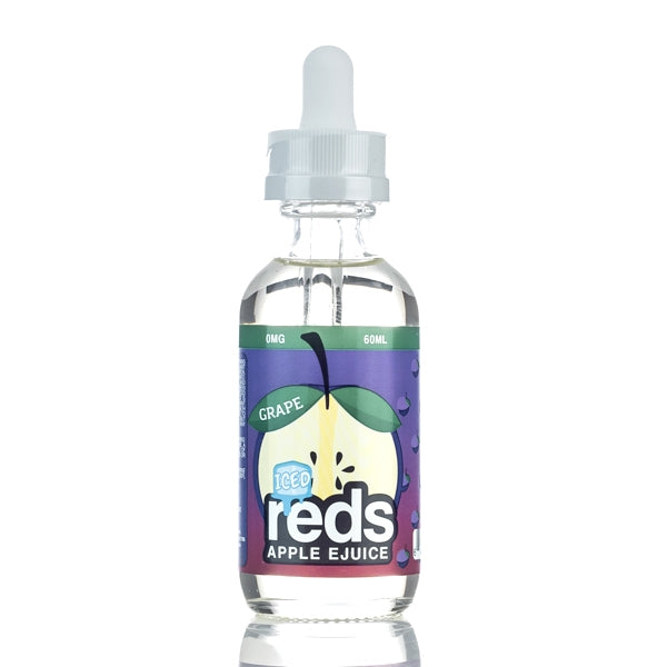 Reds Grape ICED 60ml E-Liquid by 7 Daze - SVC, LLC