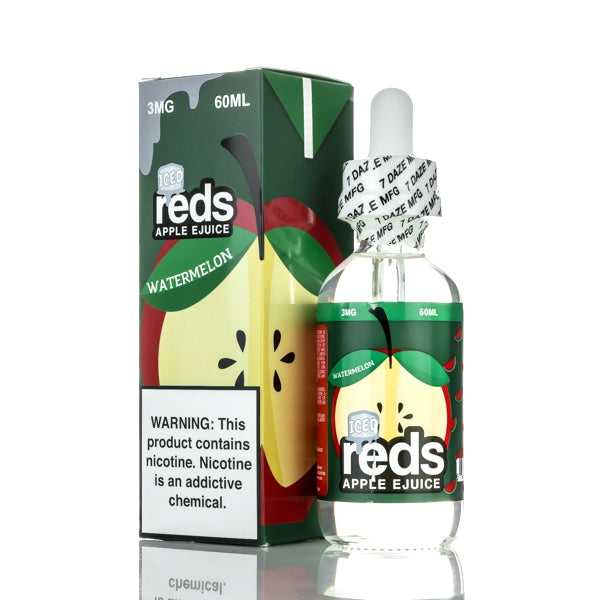 Reds Watermelon ICE 60ml E-Liquid by 7 Daze - SVC, LLC