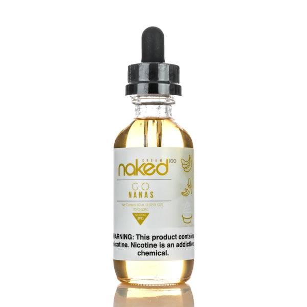 Go Nanas 60ml E-Liquid by Naked100