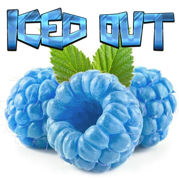 Iced Out Blue Raspberry