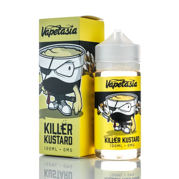 Killer Kustard 100ml byVapetasia E-liquid