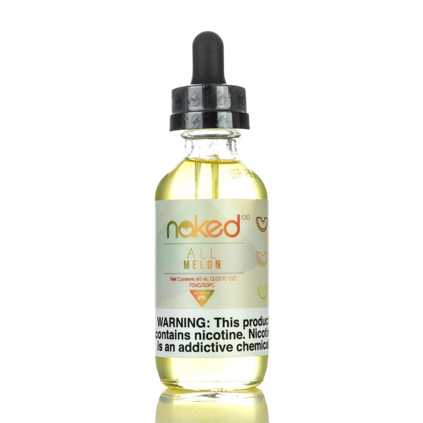 All Melon 60ml E-Liquid by Naked100