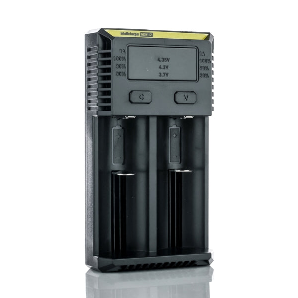 Nitecore New i2 Intellicharger Battery Charger - Two Bay