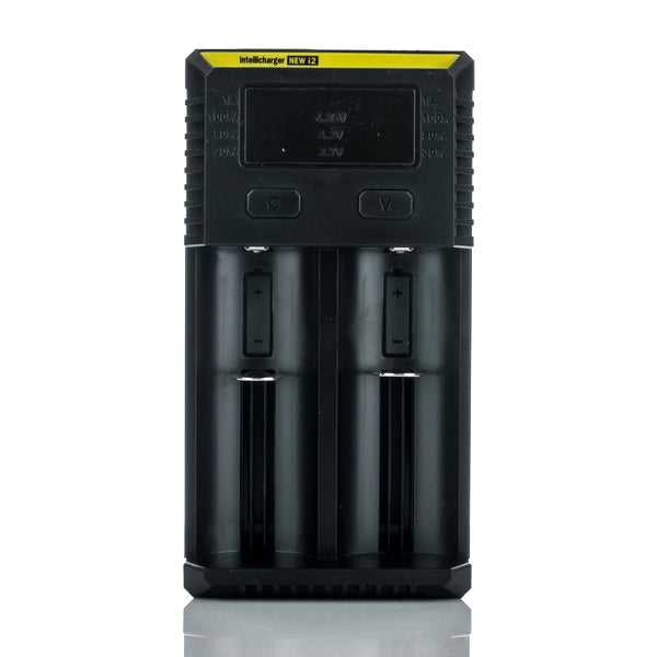 Nitecore New i2 Intellicharger Battery Charger - Two Bay - SVC, LLC