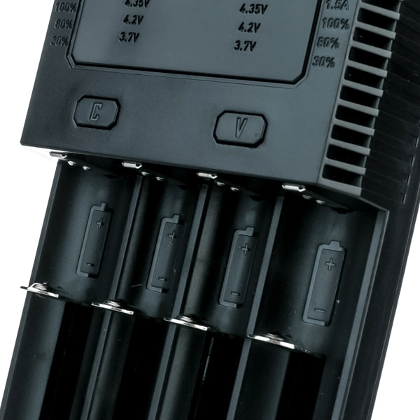 Nitecore New i4 Intellicharger Battery Charger - Four Bay - SVC, LLC