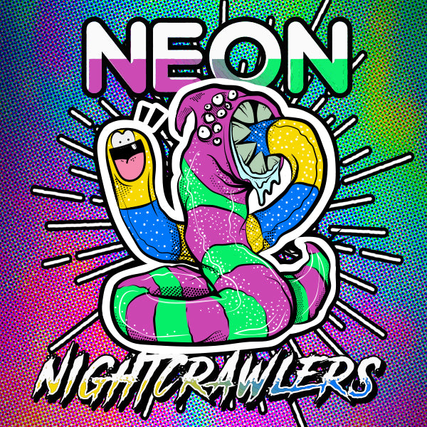 Neon Nightcrawlers E-liquid by Famous Eliquid