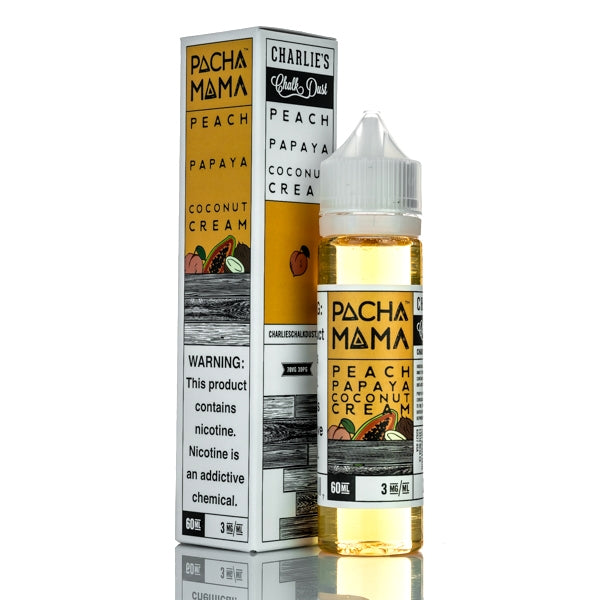 Peach Papaya Coconut Cream 60ml E-Liquid by Pachamama