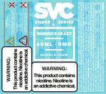 Berries B Crazy 60ml E-liquid by SVC