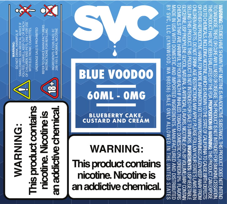 Blue Voodoo by SVC