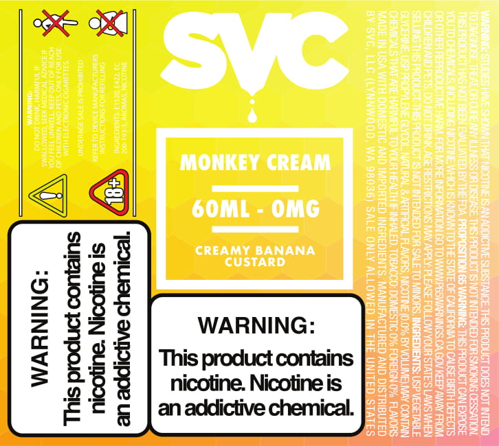Monkey Cream by SVC - SVC, LLC