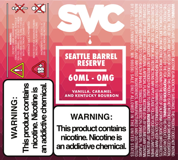 Seattle Barrel Reserve by SVC