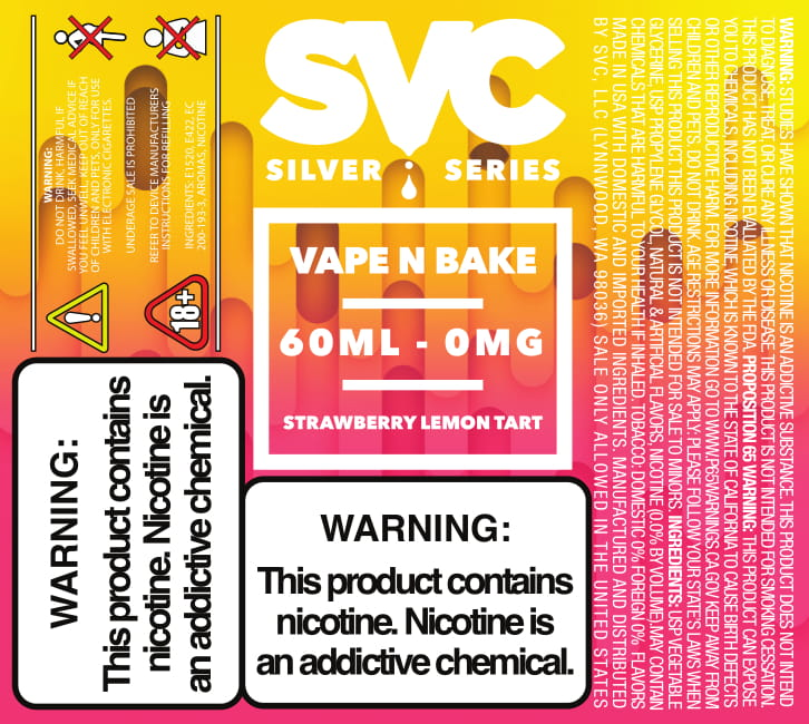 Vape N Bake 60ml E-liquid by SVC
