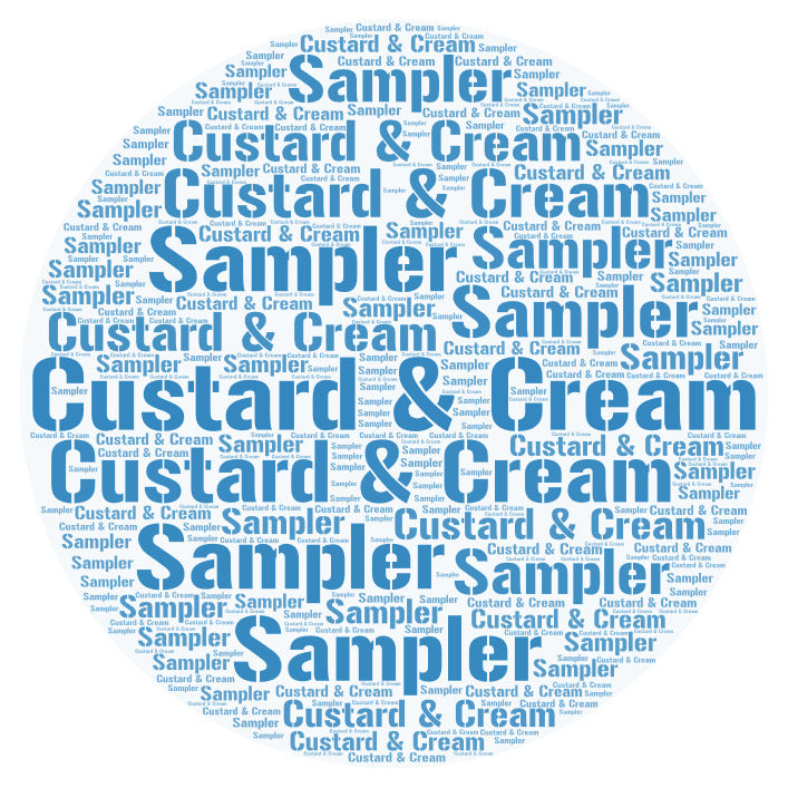 SVC Custards & Creams Sampler 120ml 4x30ml