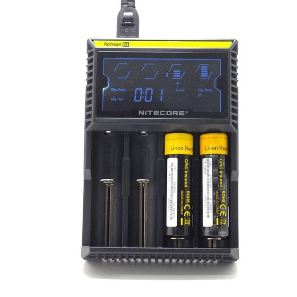 Nitecore D4 Intellicharger Battery Charger - Four Bay - SVC, LLC