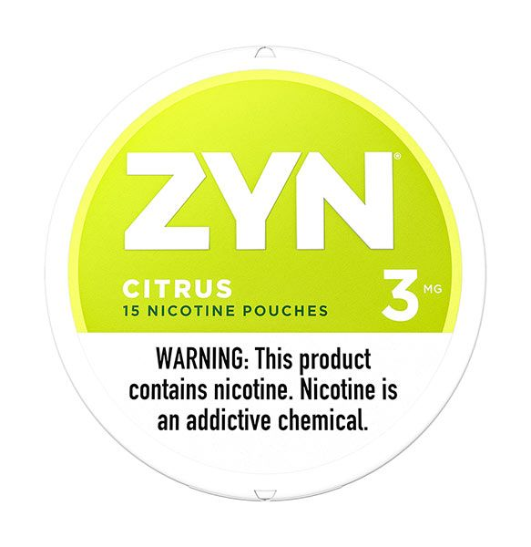 Citrus ZYN Nicotine Pouches