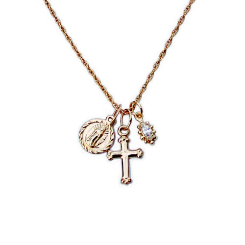 Confession Gold Necklace