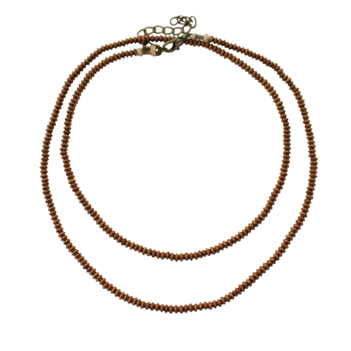 Sina Bronze Necklace
