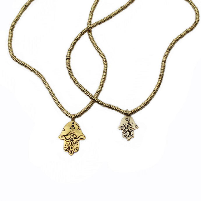 Khamsah Gold Necklace