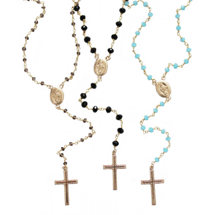Miraculous Gold Rosary