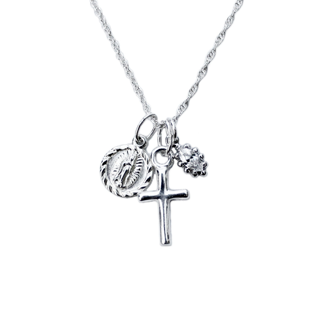 Confession Silver Necklace