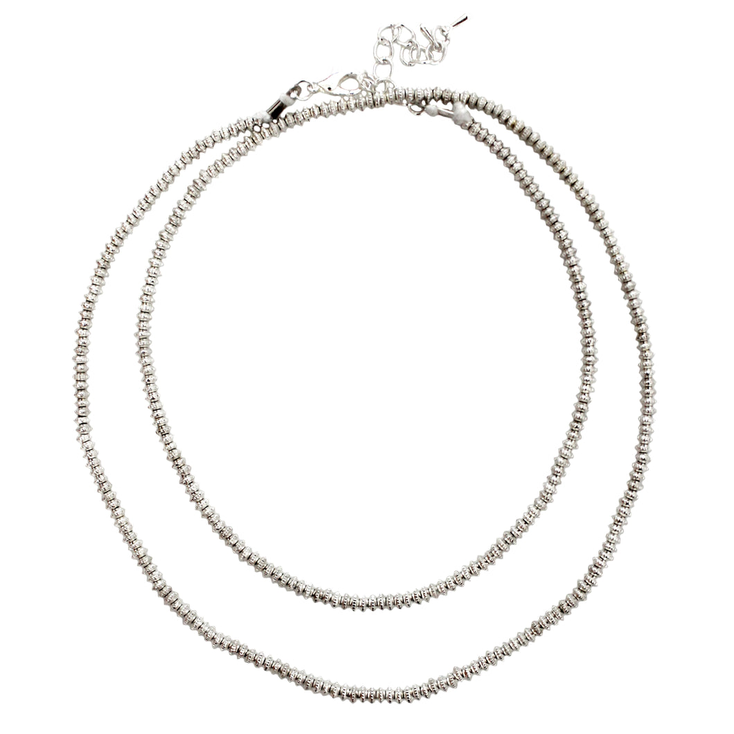 Sina Silver Necklace