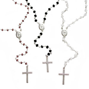 Miraculous Silver Rosary
