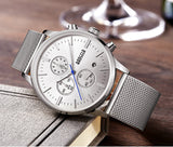 Men's Luxurious Stainless Steel Watch