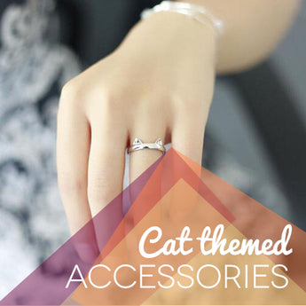 Cat themed accessories