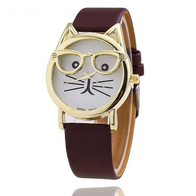 Cute Cat Watch-cutecatcasa