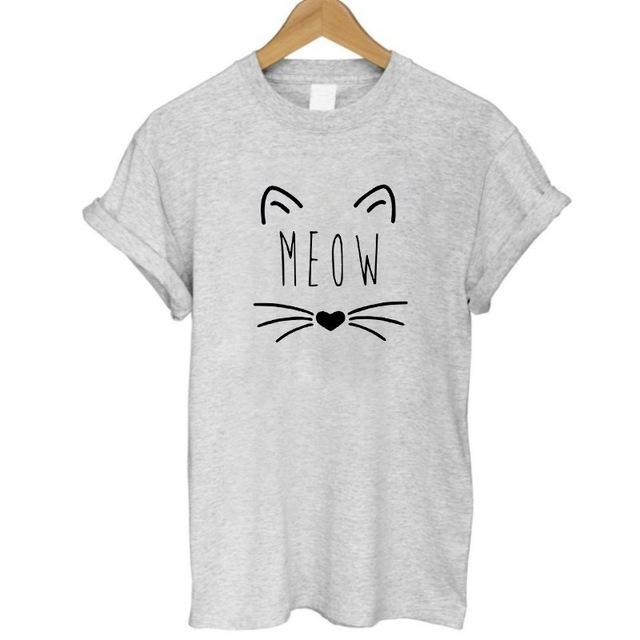 Cat Meow Shirt-cutecatcasa