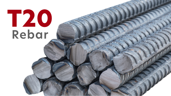 T20 Rebar - 20mm High Tensile Reinforcement Bar