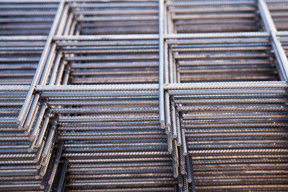 A142 Steel Mesh Piled