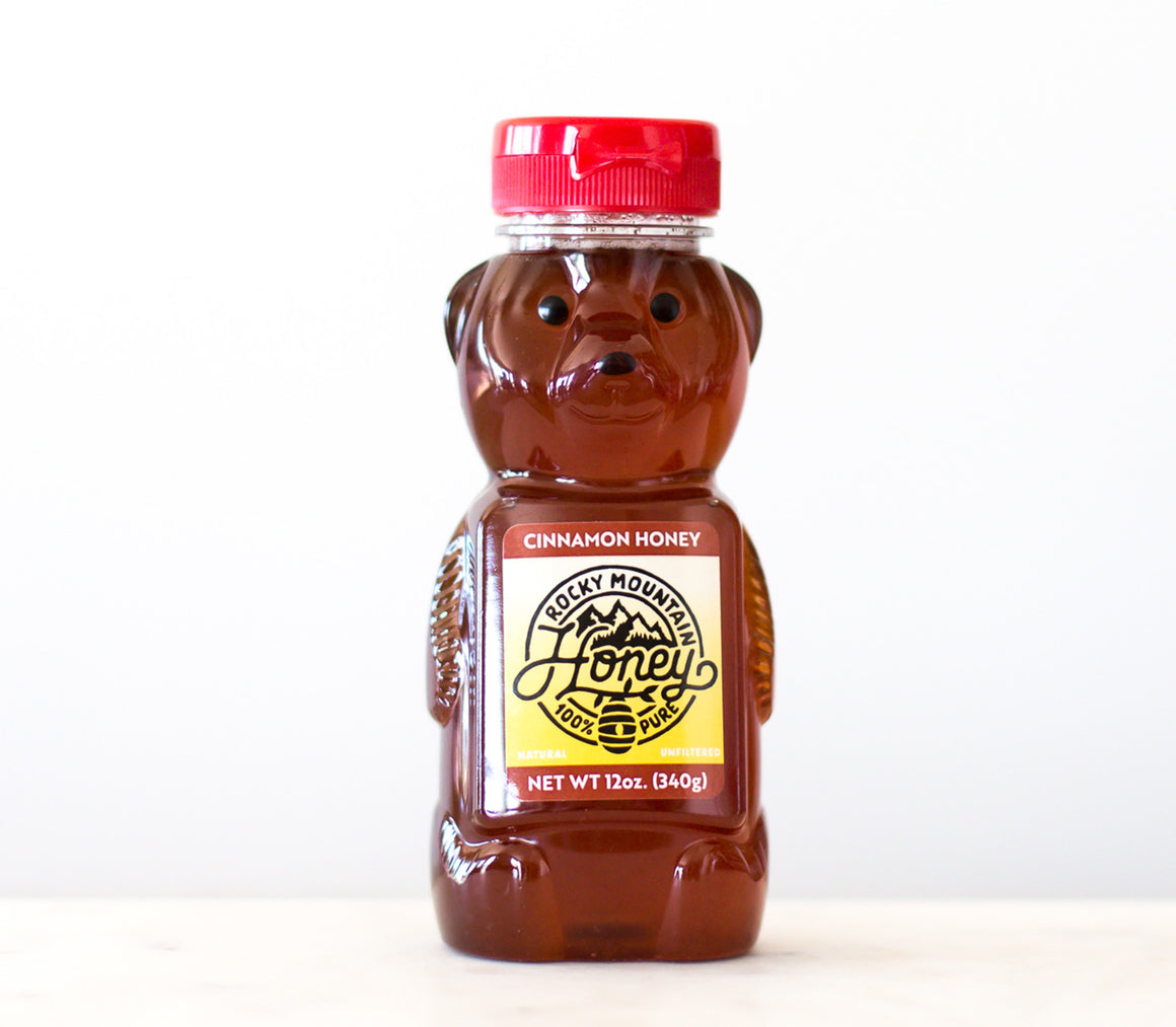 12 oz. Cinnamon Honey Bear