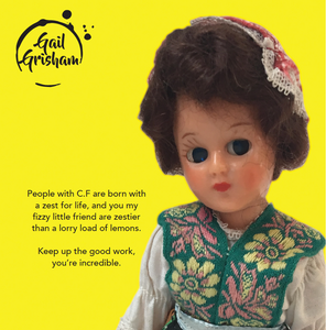 CF CHARITY CARD - Doll Truths Gail Grisham funny greetings cards