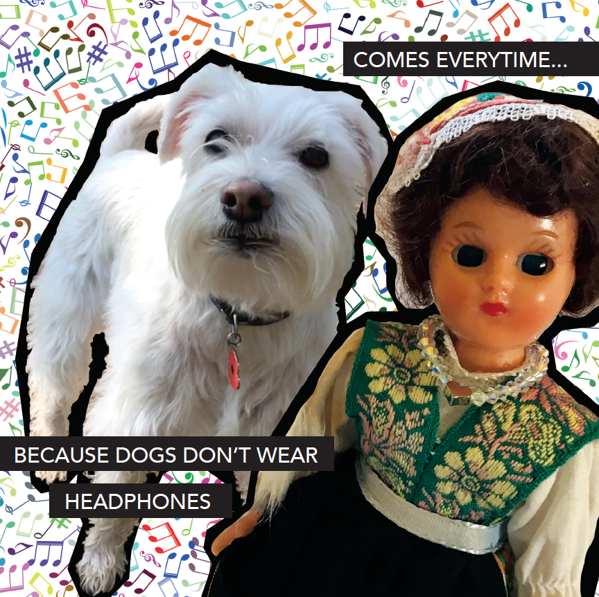 DOGS ANSWER - Doll Truths Gail Grisham funny greetings cards