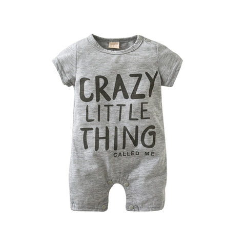 Crazy Thing Cotton Romper - BabyTrunk