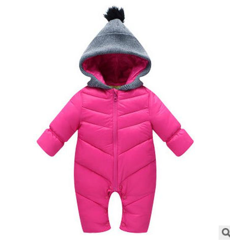 Thermal Jumpsuit with Hoodie - BabyTrunk